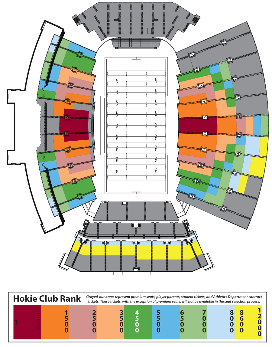 Points To Consider When Reading This Stadium Map